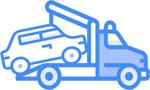 Autoverwertung-Abschleppfahrzeug
