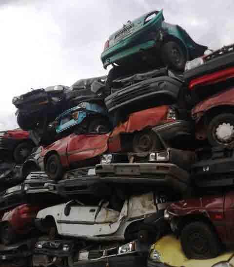 Schrottauto-Autoentsorgung