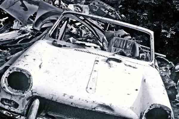 Schrottplatz-Auto-Autoverwertung